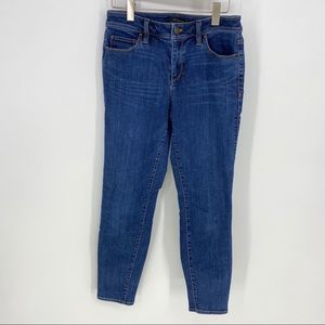 Ann Taylor 6 The Skinny Ankle Curvy Fit Jeans